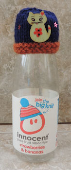 Innocent Smoothies Big Knit Hat Patterns Cat Button Hat