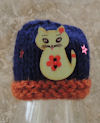 Innocent Smoothies Big Knit Hat Patterns Cat Buttons