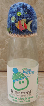 Innocent Smoothies Big Knit Hat Patterns Button Hats Ocean Deep Fish Button