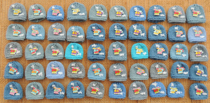 Innocent Smoothies Big Knit Hat Patterns Helicopter Button