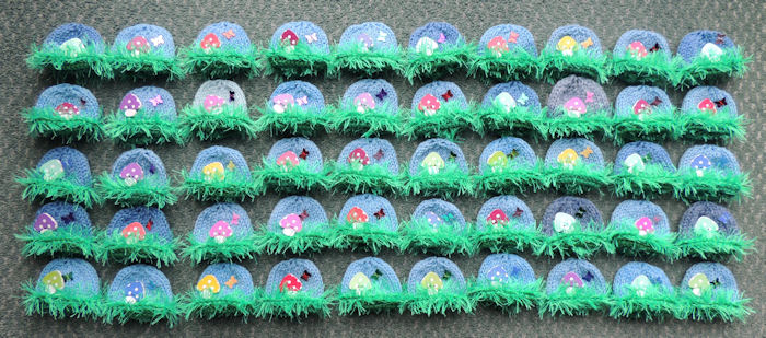 Innocent Smoothies Big Knit Hat Patterns - Toadstool Buttons