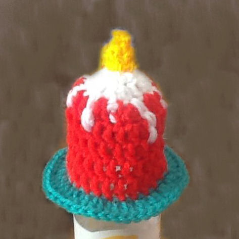Innocent Smoothies Big Knit Hats - Crochet Candle