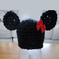 Innocent Smoothies Big Knit Hat Patterns Crochet Minnie Mouse
