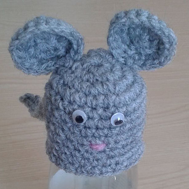 Innocent Smoothies Big Knit Hat Patterns - Crochet Mouse