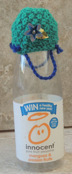 Innocent Smoothies Big Knit Hats - Barney Bags / Baskets