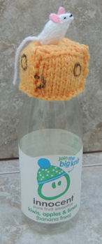 Innocent Smoothies Big Knit Hat Patterns Mouse on Cheese