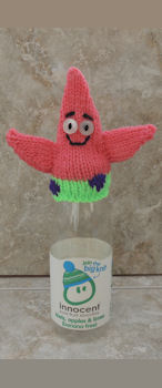 Innocent Smoothies Big Knit Patterns - Patrick Star Fish