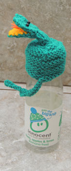 Innocent Smoothies Big Knit Hat Patterns - Snake