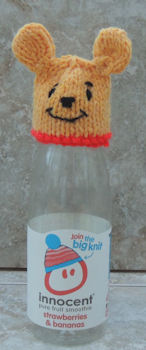 Innocent Smoothies Big Knit Hat Patterns - Winnie the Pooh
