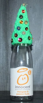 Innocent Smoothies Big Knit Hats - Christmas Tree