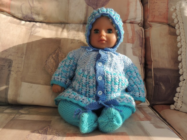 Doll's Clothes - Blue Outfit