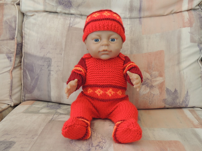 Doll's Clothes - Red Outfit