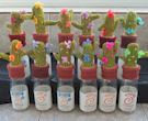 Innocent Smoothies Big Knit Hats - Cactus Pattern
