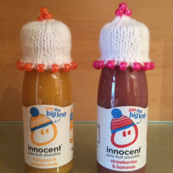 Innocent Smoothies Big Knit Hat Patterns Beady