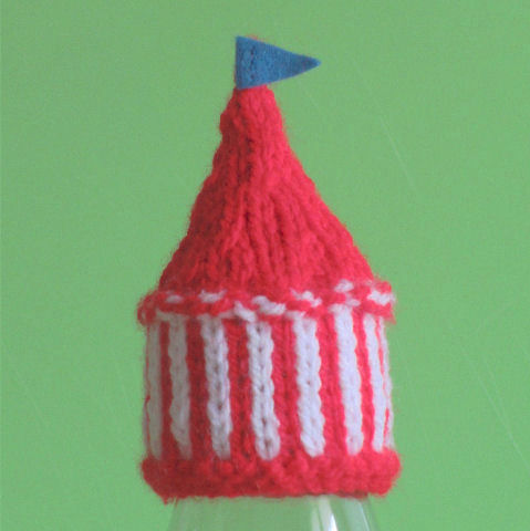 Innocent Smoothies Big Knit Hat Patterns - Circus Tent