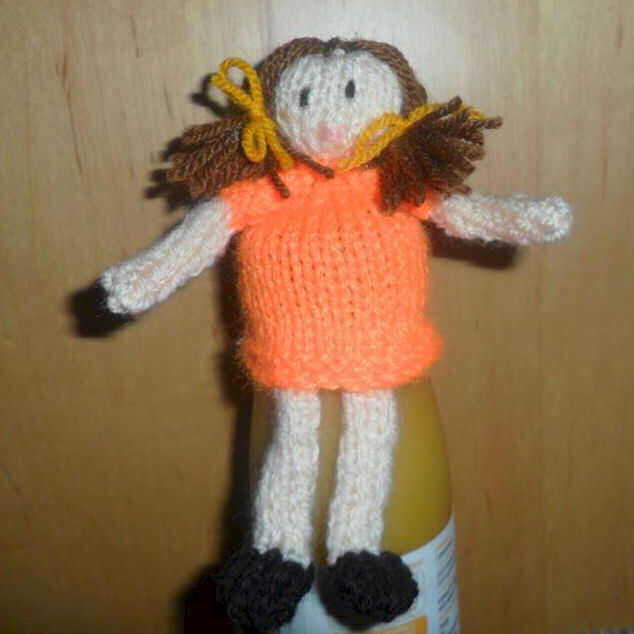 Innocent Smoothies Big Knit Hat Patterns - Doll