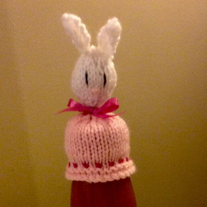 Innocent Smoothies Big Knit Hat Patterns Easter Bunny