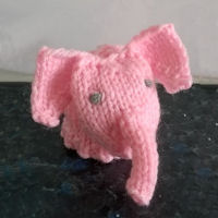 Innocent Smoothies Big Knit Hat Patterns Elephant
