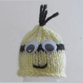 Innocent Big Knit Hat Patterns - Minion