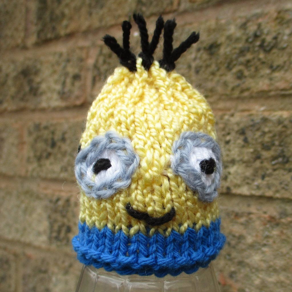 Innocent Smoothies Big Knit Hat Patterns Minion