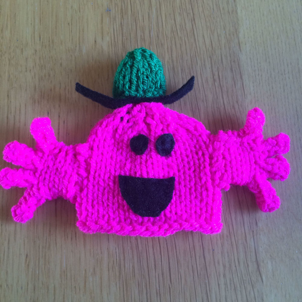 Innocent Smoothies Big Knit Hat Patterns Mr Men Mr Chatterbox