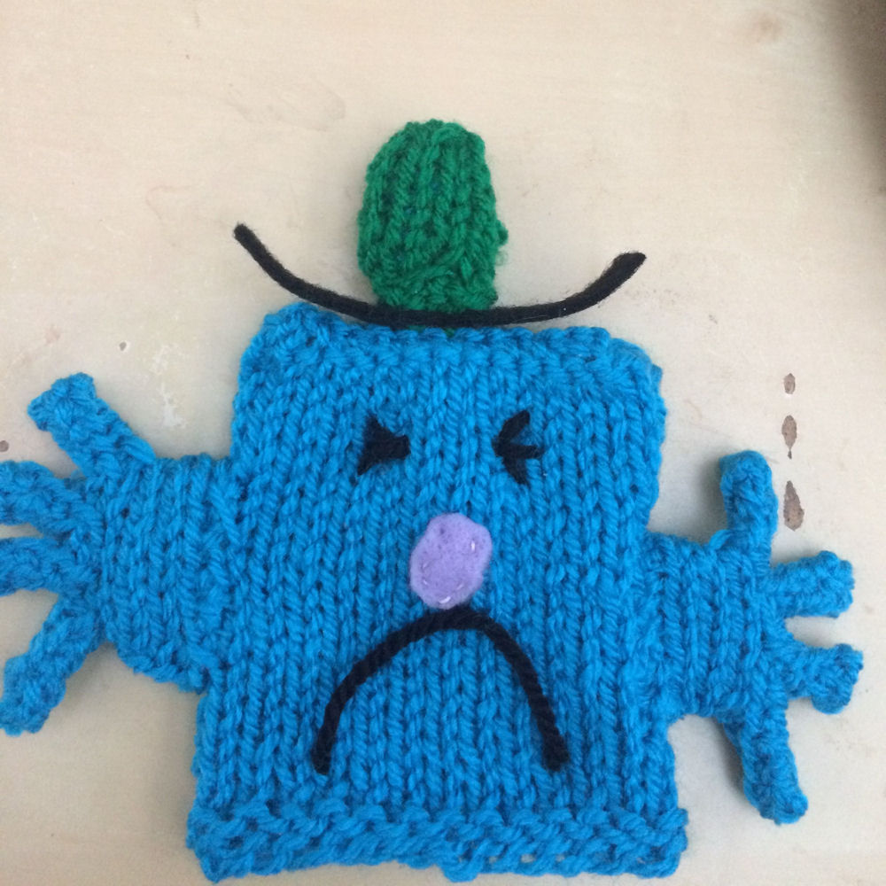 Innocent Smoothies Big Knit Hat Patterns - Mr Grumpy