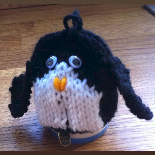 Innocent Smoothies Big Knit Hat Pattern Penguin